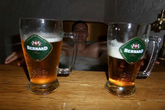 Preparing The Ingredients Picture Of Prague Beer Spa