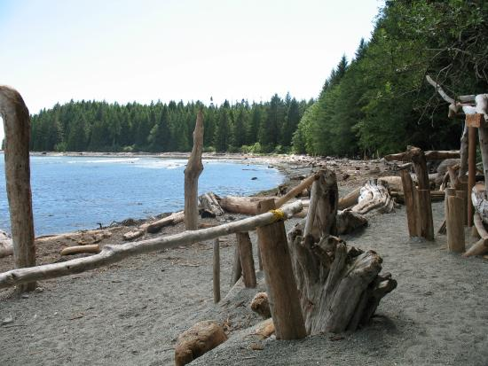 Mussel Beach Campground: The beachfront