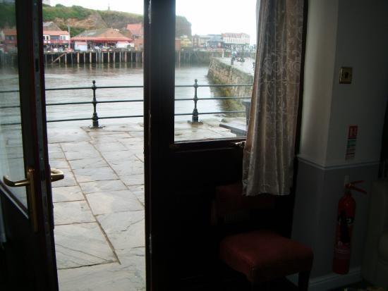 Duke of York: view from  open bedroom door room 1