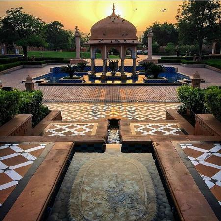The Oberoi Rajvilas: Exterior View
