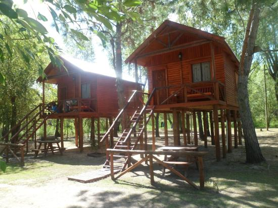 Villa Paranacito, Argentina: cabañas en entorno natural