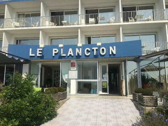 Hotel Le Plancton Carnac : Haupteingang