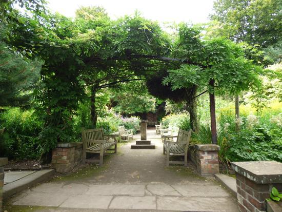 old english garden picture of calderstones park liverpool