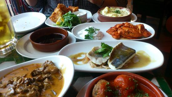 Cafe Andaluz Lunch Menu