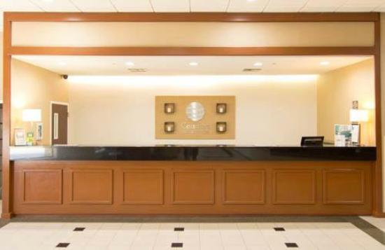 Comfort Inn & Suites Plano East: Front Desk