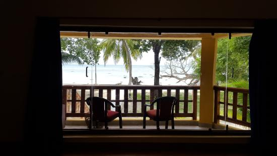 Dolphin Resort: View from room