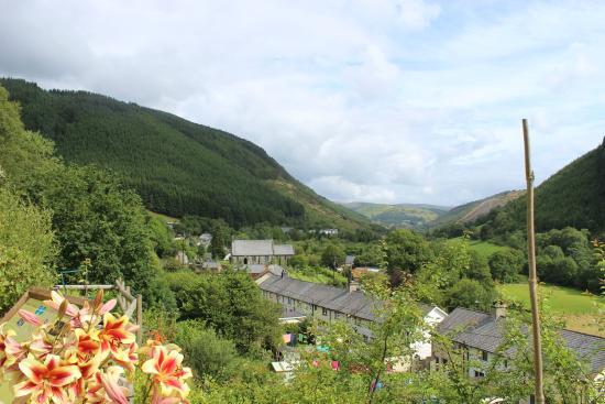Braich Goch Bunkhouse and Inn: view from the garden