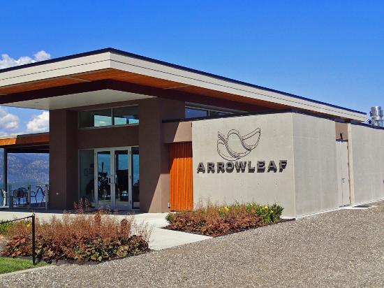 Arrowleaf Cellars The Winery Building. & The picnic area. - Picture of Arrowleaf Cellars Lake Country ...