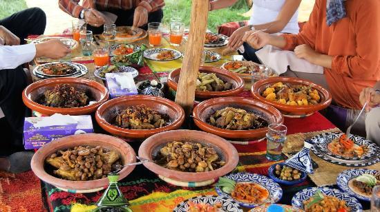 Bien venus au potager picture of atelier de cuisine chef for Atelier cuisine marrakech