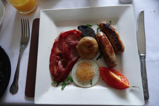 Calsfell View B&B: Breakfast choice