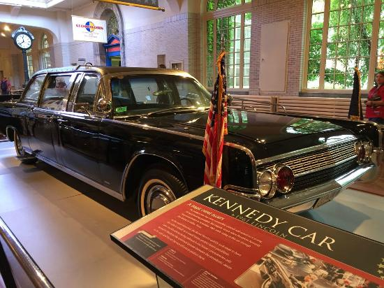 Jfk Assassination Car Picture Of The Henry Ford Dearborn