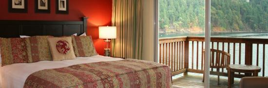Eastsound, WA: Bayside Guest Room