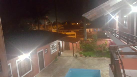 Pousada Bora Mora: Vista do quarto #8