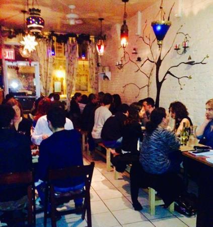 Sacred Chow interior