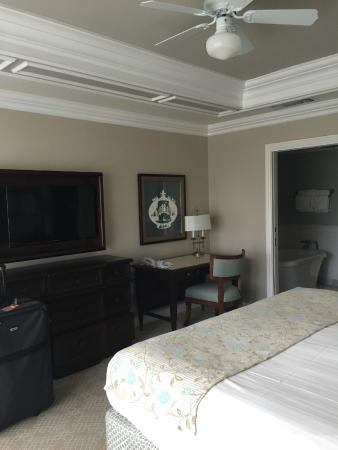 Disney s Grand Floridian Resort   Spa  Master bedroom. Main bedroom in 2 bedroom villa   Picture of Disney s Grand