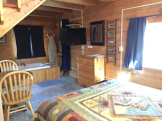Tok, AK: Inside the Cabin