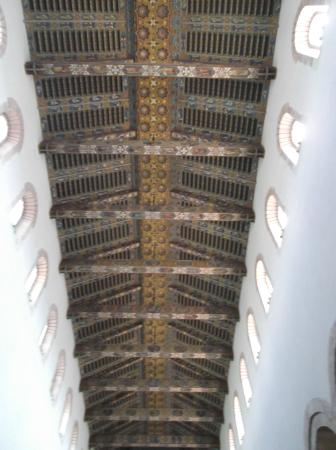 Duomo di Messina: Messina_Soffitto della navata centrale del Duomo