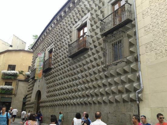 Casa del los picos - Picture of Casa de los Picos, Segovia ...