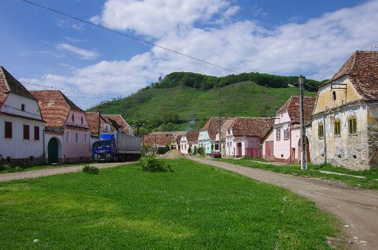 Villages with Fortified Churches