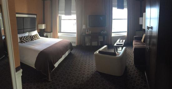 Empire Hotel Junior Suite Room 836 Lovely
