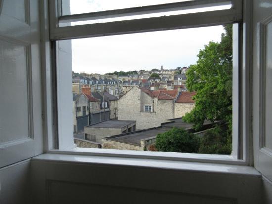 Brocks Guest House: vue de la grande fenêtre