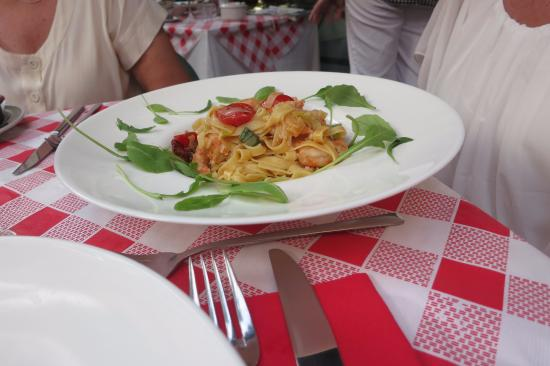 Mamma Angela : One of the dishes the chef recommended