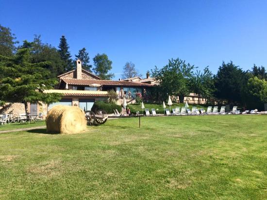 Relais Borgo San Faustino: Uitzicht