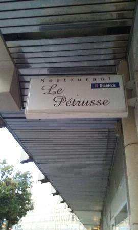 Restaurant le Petrusse