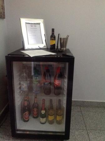 Hotel Domstern: This bar on the lobby is based on trust: you take a bottle, you'll write it down an pay later.