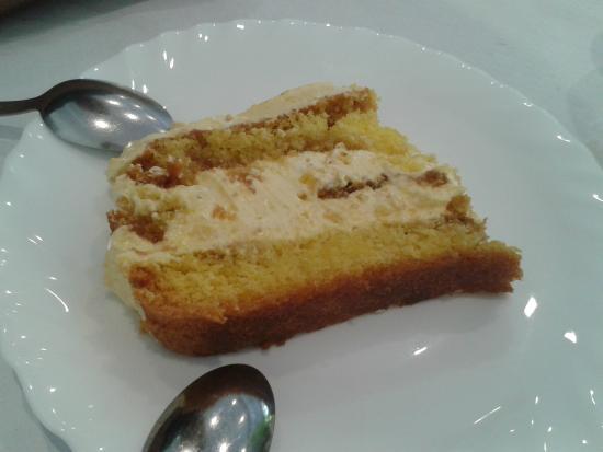 Isola del Gran Sasso d'Italia, Italia: torta della casa
