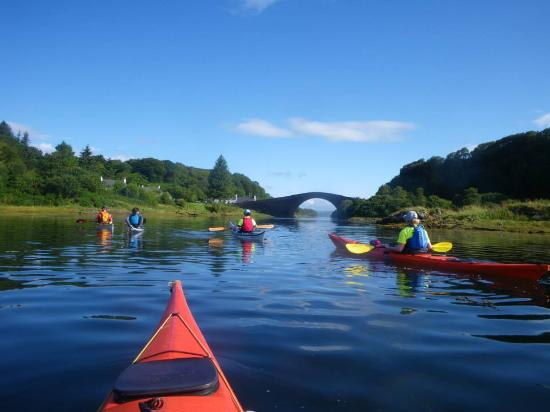 In Your Element Scotland: Kayak Team SiMBA at Clachan Bridge