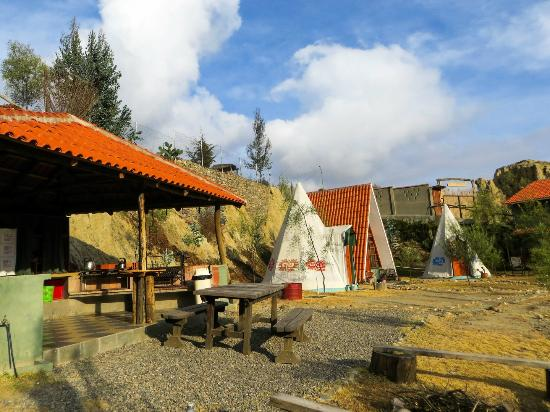 Colibri camping and eco lodge la paz bolivia omd men for Camping a couture 49