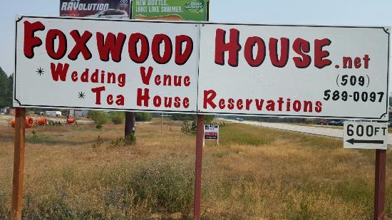 Newport, WA: Sign