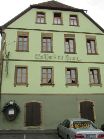 Gasthaus Zur Sonne Frankenwinheim Am Kirchberg 6 Restaurant Bewertungen Telefonnummer Fotos Tripadvisor