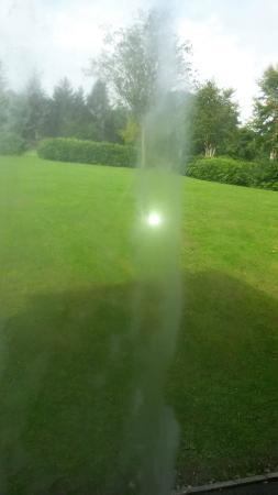 Pennal, UK: Misted window unit