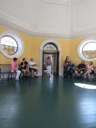 Dome Room Picture Of Thomas Jeffersons Monticello