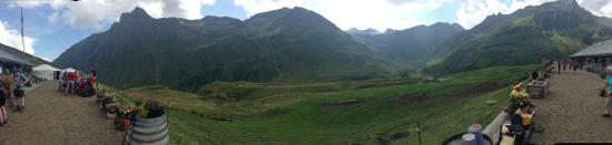 La Fouly, Switzerland: View from the refuge.