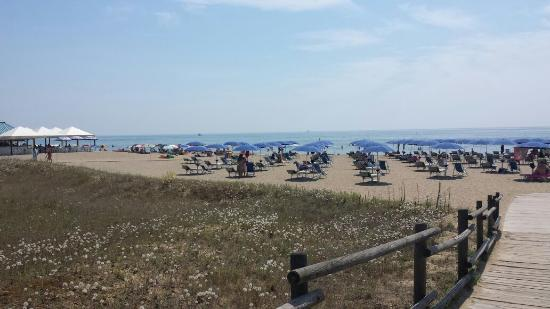 Holiday Center Valdor: La spiaggia