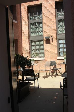 Al Canal Regio: Внутренний дворик