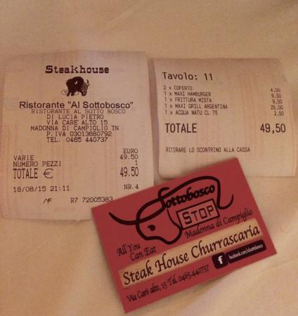 Al Sottobosco Steak house Churrascaria: photo0.jpg