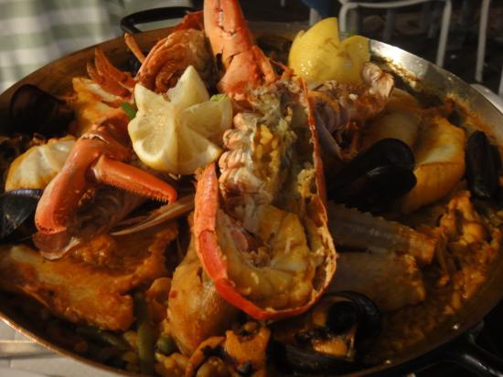 La Taverne de la Cote Bleue : Prato de frutos do mar