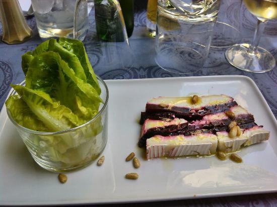 Plat du jour con tre tipi di carne anatra vitello e manzo cottura ottima - La salle a manger salon de provence ...