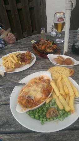 Acrefair, UK: Great food.