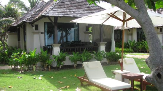 Layana Resort & Spa : Les bungalows sur la plage