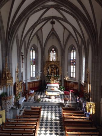 Velturno (Feldthurns), Italien: Pfarrkiche Feldthurns