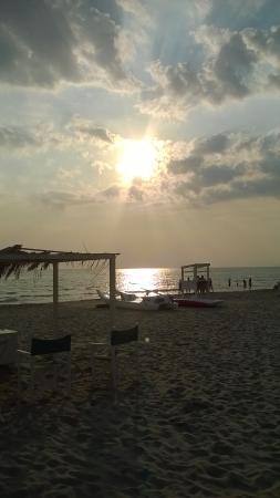 Albergo Battelli: La splendida spiaggia Battelli.