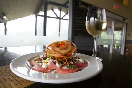 Black Squirrel Restaurant: Pemberton Beet Salad & Fort Berens Wine