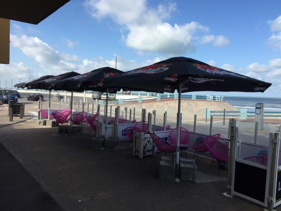 Quend-Plage, Frankrike: Terrasse face mer