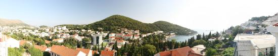 Cosmopolitan House Dubrovnik: View from balcony