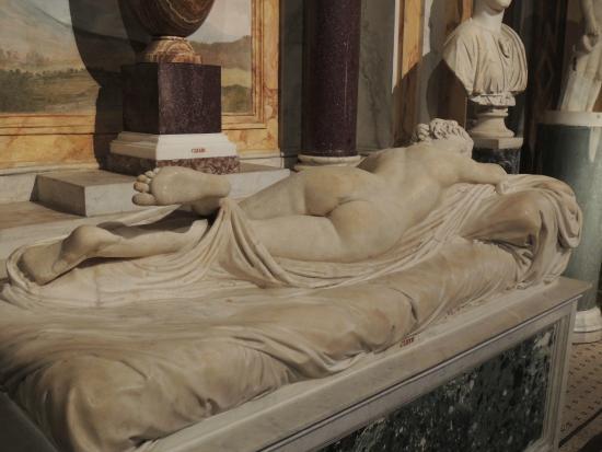 Super HERMAPHRODITE ENDORMI PAR BERNINI - Photo de Villa Borghèse, Rome  MY24